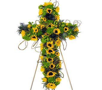 Sunflower Cross in Baltimore MD, Raimondi's Flowers & Fruit Baskets