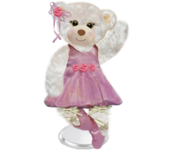 Ballerina Teddy Bear in Hudson NH, Anne's Florals & Gifts