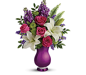 Teleflora's Sparkle and Shine Bouquet in Pleasanton CA, Bloomies On Main LLC