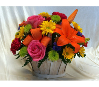 Happy Day Basket in Hollidaysburg PA, Warner's Florist Gifts & Greenhouse