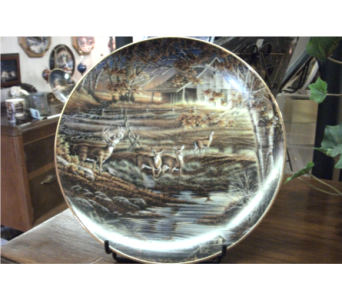 Terry Redlin collector plate in Paris TN, Paris Florist and Gifts
