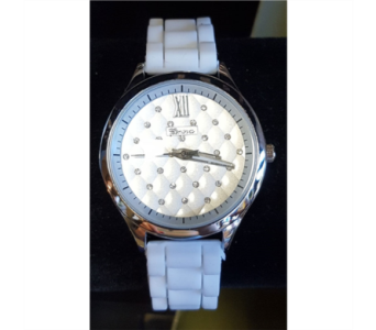 Silicone Watch - White in Neenah WI, Sterling Gardens