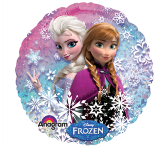 Disney Frozen Mylar Balloon in Norristown PA, Plaza Flowers
