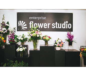 Custom in Kelowna BC, Enterprise Flower Studio