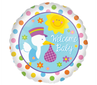 Baby Bundle of Joy Mylar Balloon in Norristown PA, Plaza Flowers