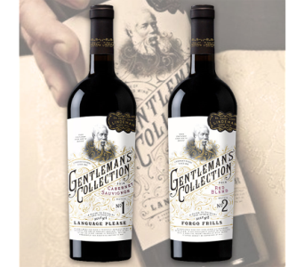Gentleman''s Collection Double Or Nothing Wine Set in Cleves OH, Nature Nook Florist & Wine Shop