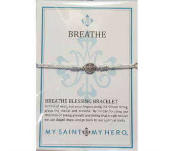 Breathe Blessing Bracelet - Silver in Neenah WI, Sterling Gardens