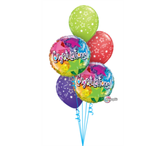 Congratulations Bouquet in Chatham ON, Pizazz!  Florals & Balloons
