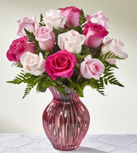 The Happy Spring� Mixed Rose Bouquet in Sapulpa OK, Neal & Jean's Flowers & Gifts, Inc.