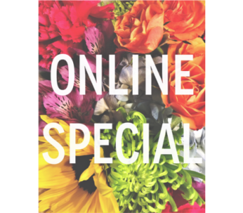Online Special in Edmonds WA, Dusty's Floral