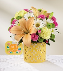 The Brighter Than Bright� Bouquet by Hallmark in Sapulpa OK, Neal & Jean's Flowers & Gifts, Inc.