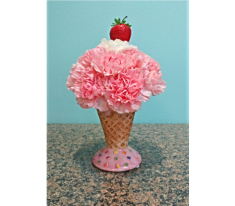 Strawberry Flower Cone in Palm Coast FL, Garden Of Eden
