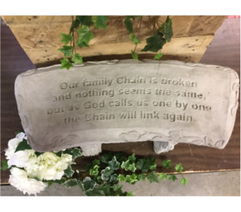 GARDEN BENCH - FAMILY CHAIN in Owensboro KY, Welborn's Floral Company