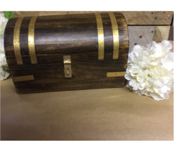 Memory Trunk with Brass Bands in Owensboro KY, Welborn's Floral Company