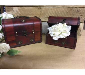 Small Garnet Memory Box in Owensboro KY, Welborn's Floral Company