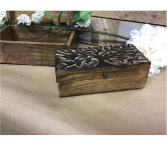 Tree of Life Memory Box in Owensboro KY, Welborn's Floral Company