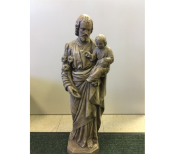 St. Joseph Statue in Sterling Heights MI, Sam's Florist