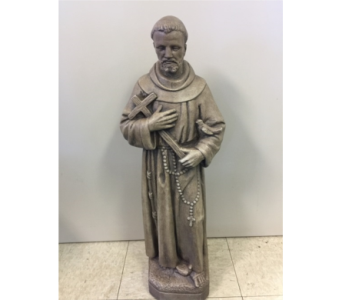 St. Francis Statue In Sterling Heights MI, Samu0027s Florist