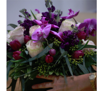 For The Love Of Purple in New York NY, Starbright Floral Design