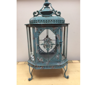 Victorian Lantern in Brownsburg IN, Queen Anne's Lace Flowers & Gifts