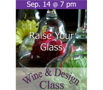 Raise Your Glass! 9/14 in Norristown PA, Plaza Flowers