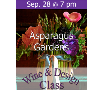 Asparagus Gardens 9/28 in Norristown PA, Plaza Flowers