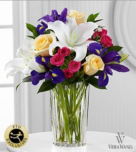 The New Day Dawns™ Bouquet by Vera Wang in Sapulpa OK, Neal & Jean's Flowers & Gifts, Inc.