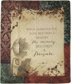 When Someone You Love - Quilt in Perrysburg & Toledo OH  OH, Ken's Flower Shops