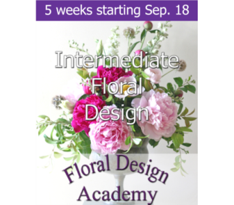 Intermediate Floral Design 9/18 in Norristown PA, Plaza Flowers