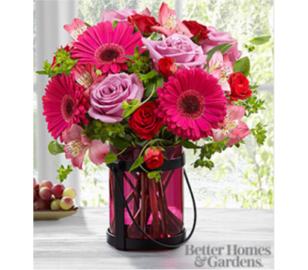 The FTD Pink Exuberance Bouquet in Manchester MD, Main St Florist Of Manchester, LLC