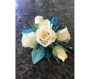 Ocean Spray Corsage in Clearwater FL, Hassell Florist