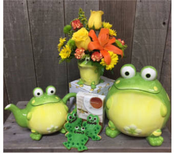Frog Party in Portland OR, Portland Florist Shop