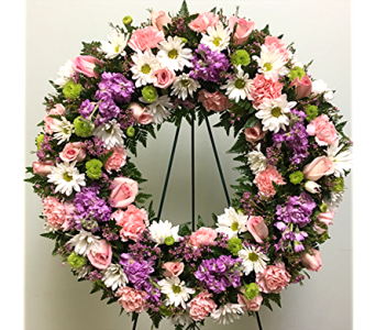Serene Blessings Wreath in Baltimore MD, Raimondi's Flowers & Fruit Baskets