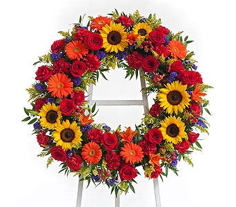Tuscan Wreath in Dallas TX, In Bloom Flowers, Gifts and More