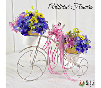 Summer Breeze Floral Tricycle in Indianapolis IN, Steve's Flowers and Gifts