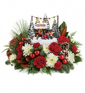 Thomas Kinkade's Family Tree Bouquet in Pensacola FL, R & S Crafts & Florist