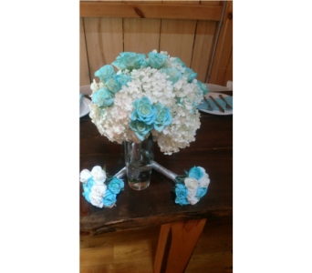 Weddin61710 in Loudonville OH, Four Seasons Flowers & Gifts