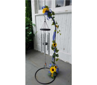 SUMMERTIME WINDCHIME in Zanesville OH, Miller's Flower Shop