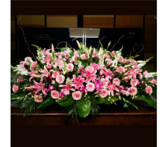PODIUM ARRANGEMENT 120 in Arlington VA, Twin Towers Florist