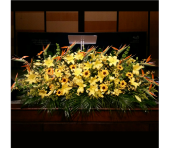PODIUM ARRANGEMENT 121 in Arlington VA, Twin Towers Florist