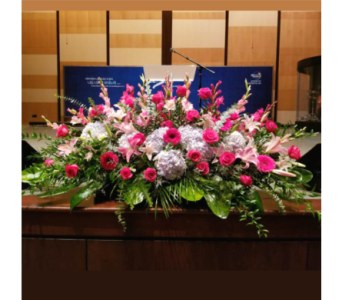 PODIUM ARRANGEMENT 124 in Arlington VA, Twin Towers Florist