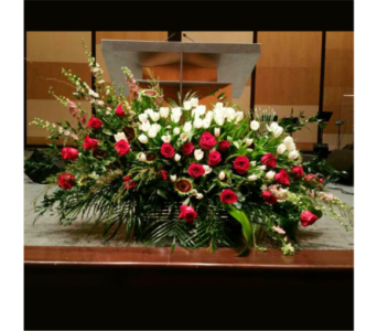 PODIUM ARRANGEMENT 125 in Arlington VA, Twin Towers Florist