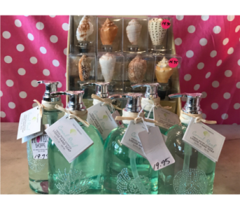 Decorative Summer Soaps or Shell Wine Stopper<br>Buy one get one in Moorestown&nbsp;NJ, Moorestown Flower Shoppe