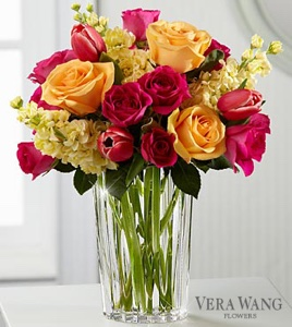 The Beauty and Grace™ Bouquet by Vera Wang in Sapulpa OK, Neal & Jean's Flowers & Gifts, Inc.