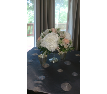 Mercury Glass Bowl Rental in Loudonville OH, Four Seasons Flowers & Gifts