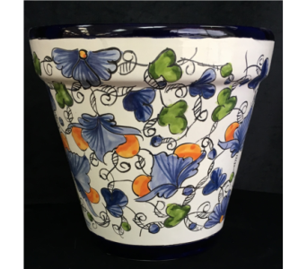 Talavera Silao Planter in Orlando FL, Harry's Famous Flowers