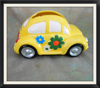 Volkswagon Planter in Tyler TX, The Flower Box