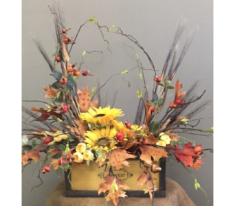 Fall Harvest Box in Beaver PA, Snyder's Flowers