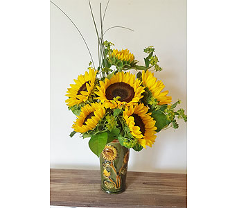 Sun Drenched Sunflowers in Nashville TN, Flowers By Louis Hody