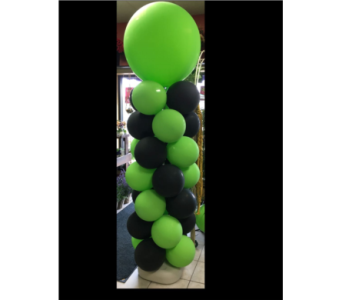 Custom Balloon Column in Guelph ON, Patti's Flower Boutique